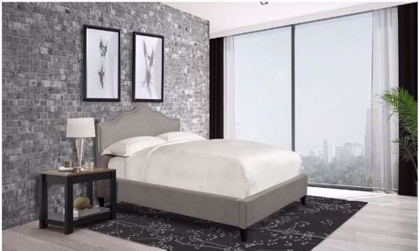 Picture of JAMIE QUEEN UPHLSTERED BED