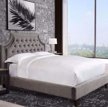 Picture of JASMINE QUEEN UPHOLSTERED BED
