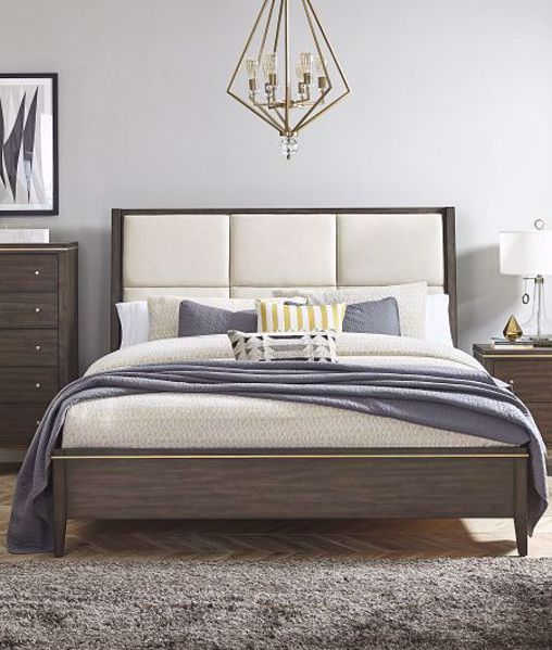 Picture of NATHAN KING UPHOLSTERED SLEIGH BED