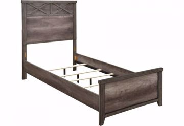 Picture of XAVIER TWIN PANEL BED