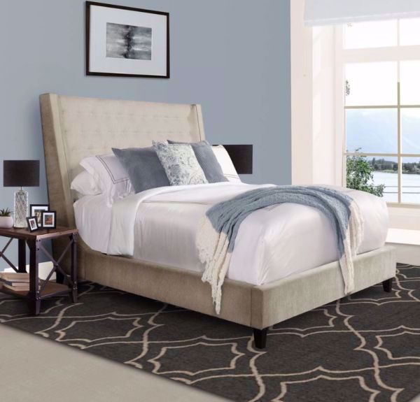 Picture of ELAINA QUEEN UPHOLSTERED BED