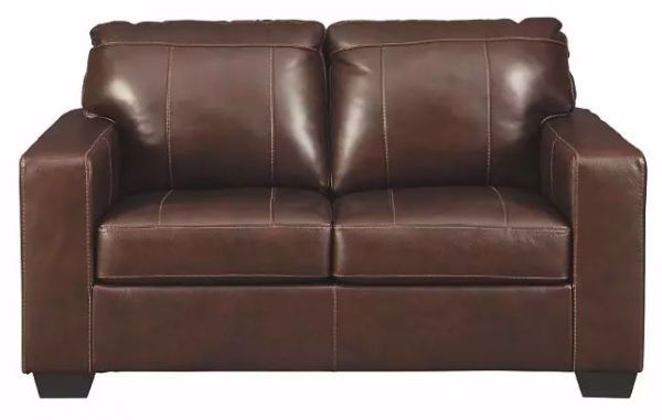 Picture of MORELOS LOVESEAT CHOCOLATE