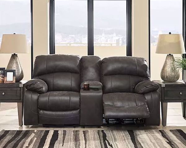 Picture of DUNWELL MOTION LOVESEAT STEEL