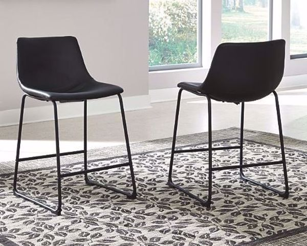 Picture of CENTIAR VOUNTER HEIGHT STOOL BLACK