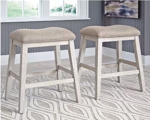 Picture of SKEMPTON BACKLESS BAR STOOL