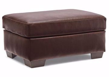 Picture of LAVISH CHESTNUT OTTOMAN