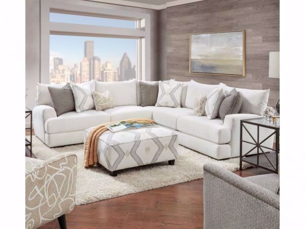 Picture of BRAXTON IVORY 3-PC. SECTIONAL