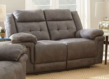 Picture of ANASTASIA GREY RECLINING LOVESEAT