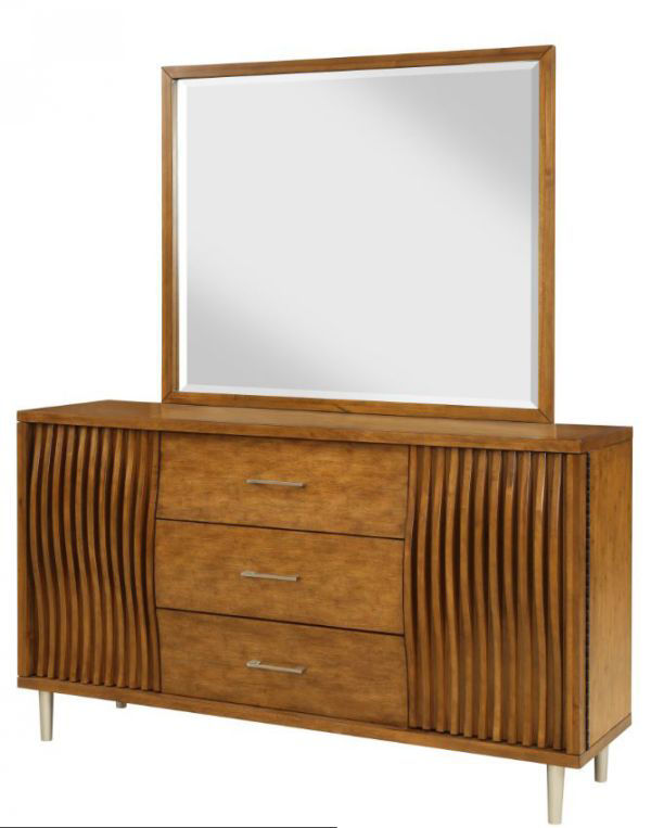 Picture of BAMBOO WAVE MIRROR