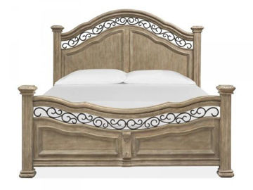 Picture of MARISON KING PANEL BED