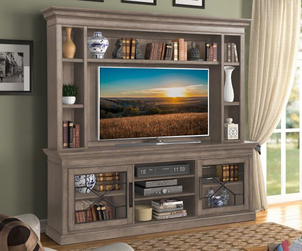"Picture of SUNDANCE 92"" ENTERTAINMENT CENTER SANDSTONE"