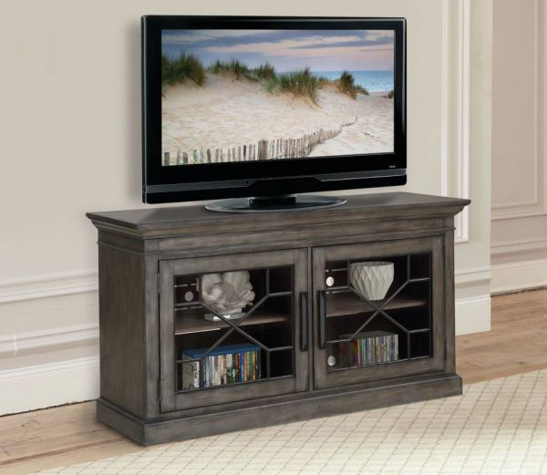 "Picture of SUNDANCE 63"" TV CONSOLE SMOKEY GREY"