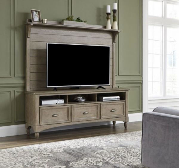 Picture of LAKESIDE ENTERTAINMENT CENTER TAUPE