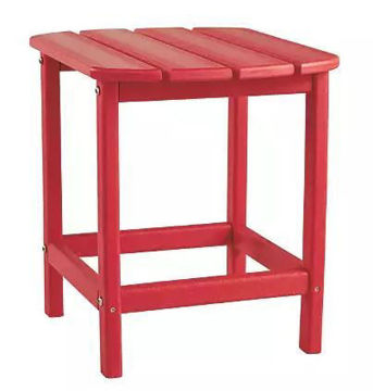 Picture of SUNDOWN TREASURE END TABLE RED