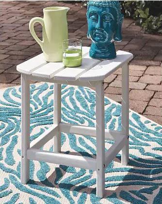 Picture of SUNDOWN TREASURE END TABLE WHITE