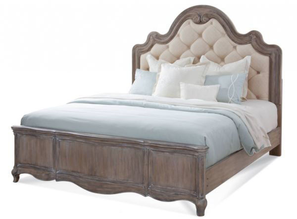 Picture of GENOA KING TUFTED UPHOLSTERED BED
