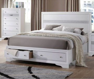 Picture of NAIMA KING PANEL STORAGE BED