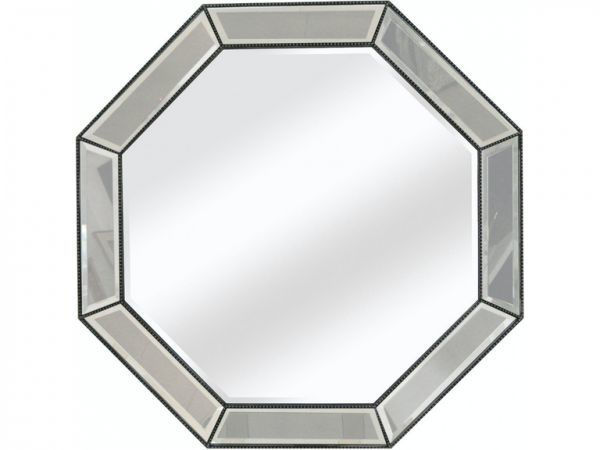 Picture of BEADED OCTAGON WALL MIRROR