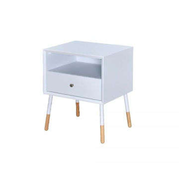 Picture of SONRIA II SIDE TABLE WHITE