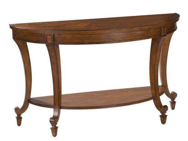 Picture of AIDAN DEMILUNE SOFA TABLE