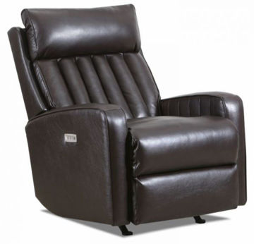 Picture of JENNINGS POWER ROCKER RECLINER - COFFEEBEAN