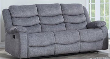 Picture of GRANADA GRAY DUAL RECLINING SOFA