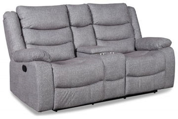 Picture of GRANADA GRAY RECLINING LOVESEAT