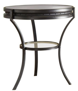 Picture of SANDY BLACK END TABLE