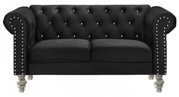 Picture of EMMA LOVESEAT BLACK