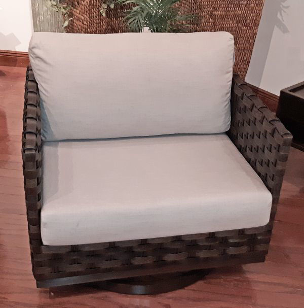 Picture of NEVIS SWIVEL LOUNGE CHAIR