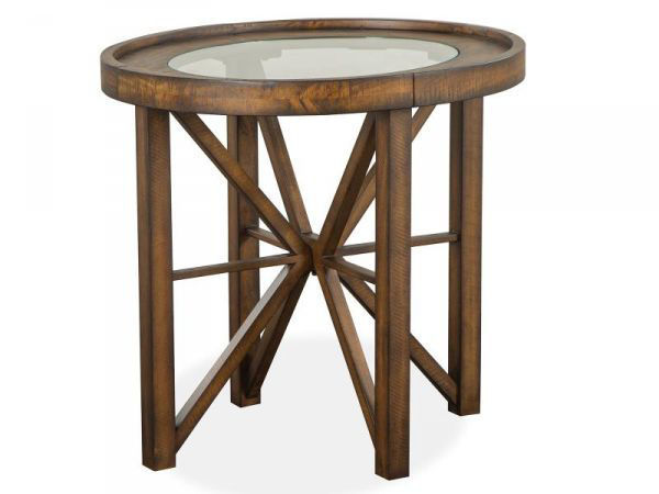 Picture of KIRKPATRICK OVAL END TABLE