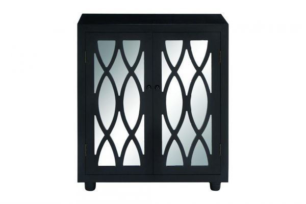Picture of MIRROR AND BLACK CABINET