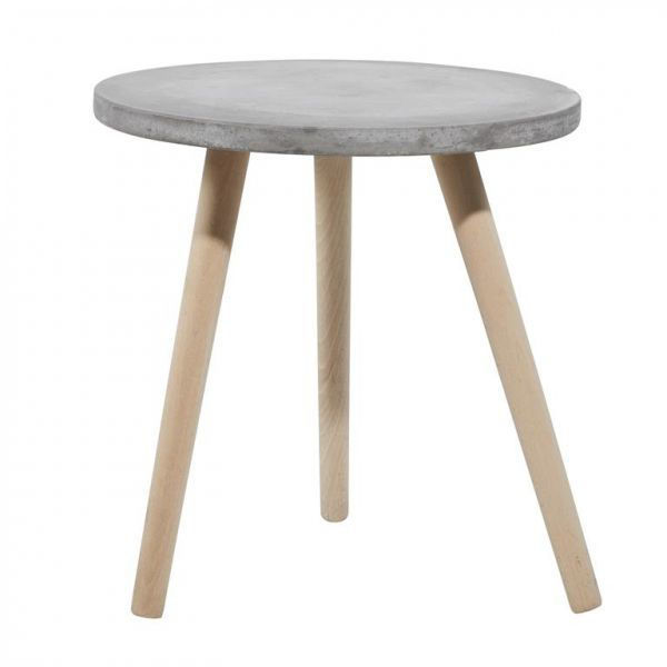 Picture of FIBER CLAY ACCENT TABLE