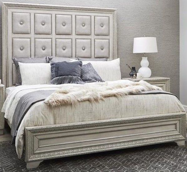 Picture of CAMILA KING UPHOLSTERED BED