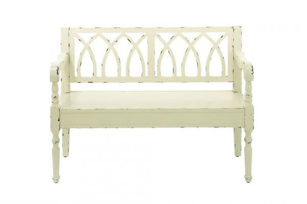 Picture of WHITE WOOD BENCH