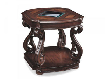 Picture of HARCOURT RECTANGULAR END TABLE