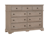 Picture of Heritage 9-Drawer Dresser