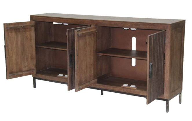 """Picture of Crossings Morocco 78"""" TV Console"""