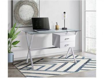 Picture of Ridgeton Glass Top  Writing Desk