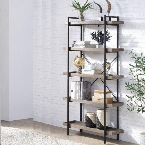 Picture of Zakwani Grey Oak Bookshelf