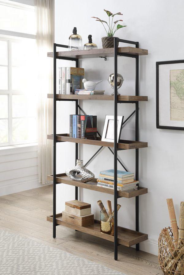Picture of Zakwani Rustic Oak Bookshelf