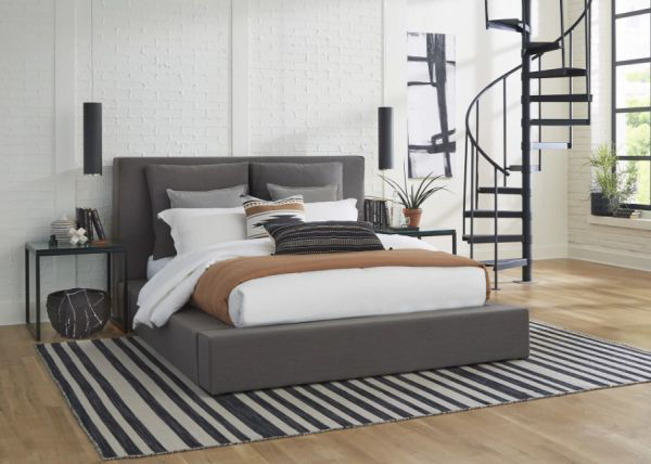 Picture of Heavenly Queen Upholstered Bed