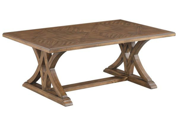 Picture of Honey Pine Cocktail Table