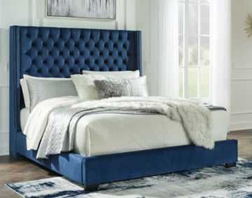 Picture of Coralayne Queen Upholstered Bed